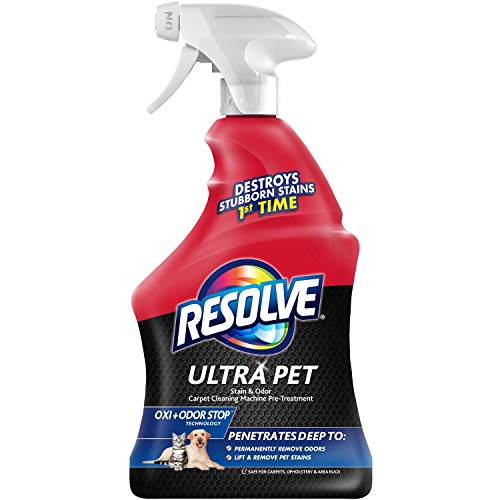 Resolve Ultra Pet Stain & Odor Remover Spray, 32oz