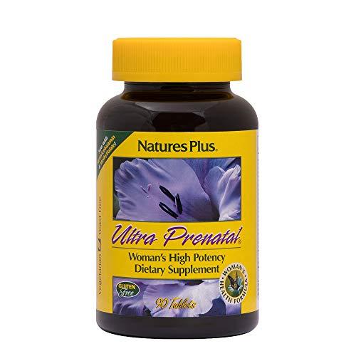 NaturesPlus Ultra Prenatal Multivitamin - 800 mcg Folate, 90 Vegetarian Tablets - Prenatal Supplement with Iron, Iodine, Calcium  Mississippi
