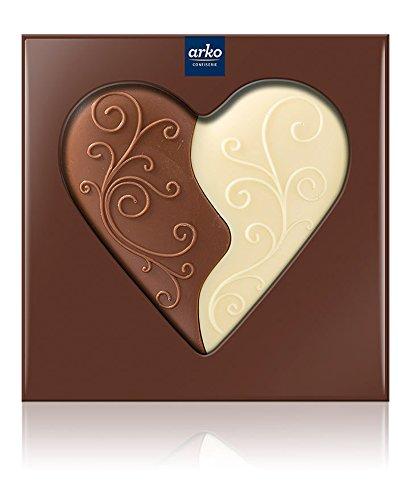 Arko Schokoladen-Herz, Geteilt, 50 G