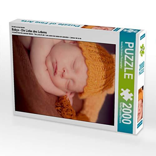 CALVENDO Puzzle Babys - Die Liebe des Lebens 2000 Teile Lege-Größe 67 x 90 cm Foto-Puzzle Bild von Sylwia Lorenz