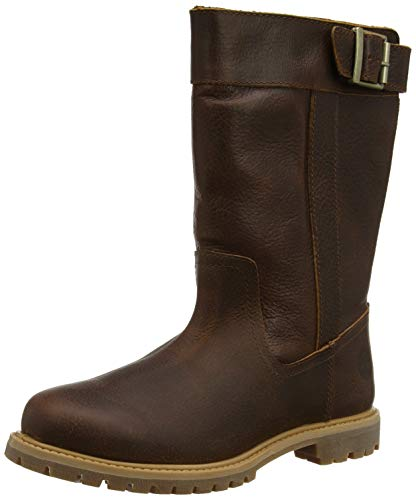 Timberland Damen Nellie Pull on Waterproof Stiefel, Braun (Medium Brown Full Grain), 39 EU