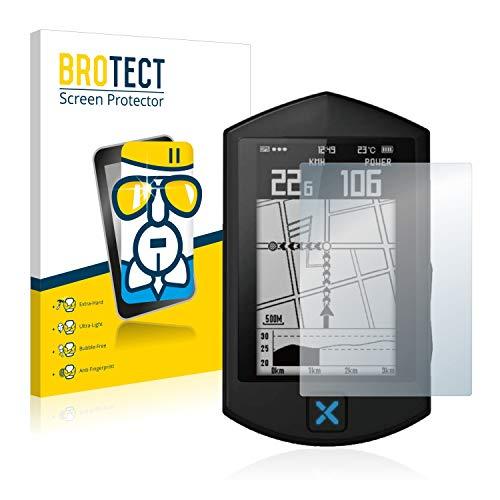 BROTECT Protector Pantalla Cristal Compatible con Xoss Sprint Protector Pantalla Vidrio - Dureza Extrema, Anti-Huellas, AirGlass