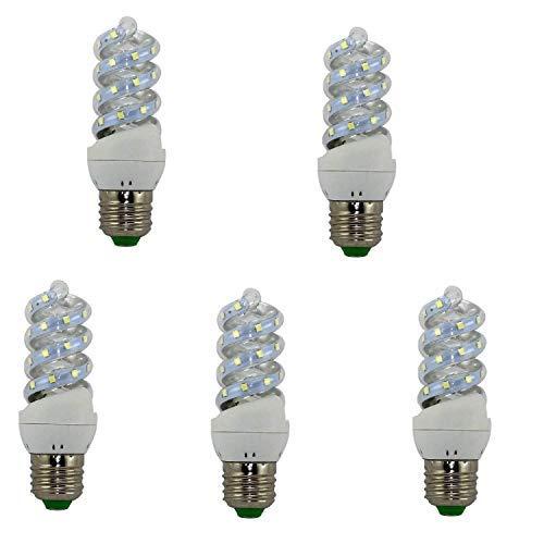 BOMBILLA LED ESPIRAL E27 9W (4200K) (pack5)