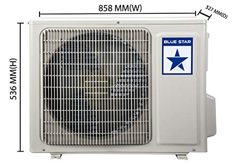 Blue Star 1.0 Ton 3 Star Split AC (Copper, 2018 Model, FS312AATU White)