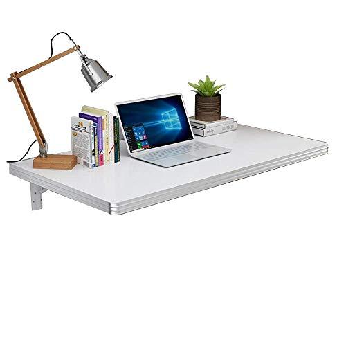 Mesa de sofá de entrada, mesa plegable, mesa de hojas abatibles montada en la pared, mesa de comedor, mesa de almacenamiento, banco de trabajo para oficina, hogar, cocina, carga máxima de 100 libras