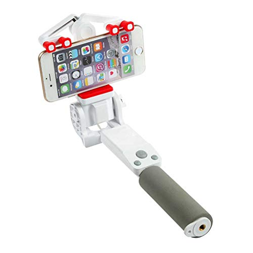 Fewear 360° Rotating RC Selfie Stick, Extendable Smart Cam Anti-Shake Monopod for iPhone X/iPhone 8/8 Plus/iPhone 7/7 Plus/iPhone 6 Plus, Galaxy S9/S9 Plus/S8/S8 Plus/S7/Note 8 (C)