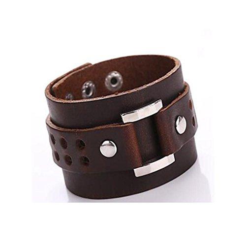 GYJUN Bracelet Bracelets Wrap / Bracelets en cuir Alliage / Cuir Forme Géométrique / Ancre Couche double / Mode / Bohemia style / Adorable , one size