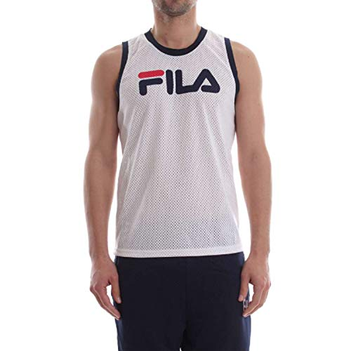 Shirt Fila Heritage 684336 Unisex T-shirt wit vintage mouwloos geperforeerd