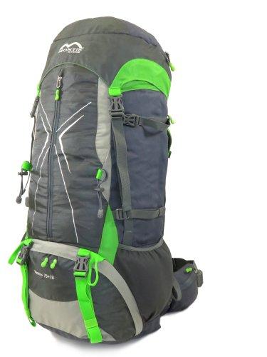 MONTIS VENTRO 75+10, mochila de trekking, 85 l, 75 x 38, 1700 g …