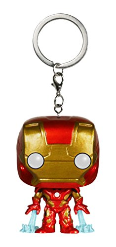 Funko 5225 MARVEL 5225-PDQ Pocket POP Avengers AOU Iron Man Keychain