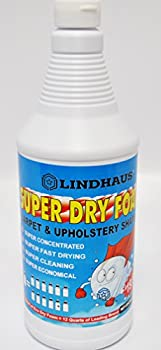 Lindhaus Super Dry Foam Organic Encapsulation Carpet Rug and upholstery Shampoo