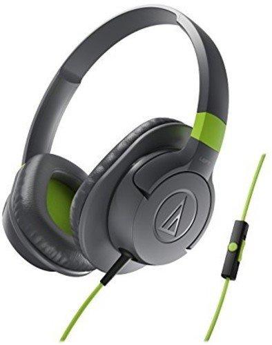 AudioTechnica ATH-AX1iS SonicFuel Over-Ear Headphones (Gray)
