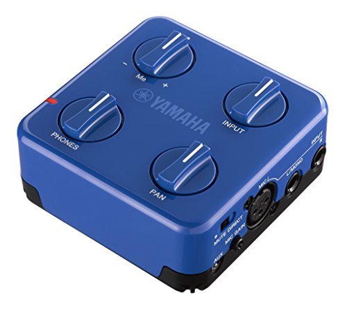Yamaha SC-02 Session Cake Portable Mixer, Blue