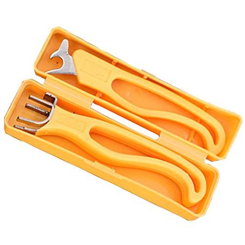 Handbetriebene Werkzeuge Schnell Nussknacker Walnuss Zange Sheller Startseite Nuss-Öffner 2Pcs Werkzeug