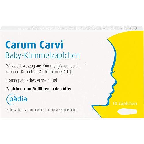 Carum carvi Baby-Kümmelzäpfchen, 10 St. Zäpfchen