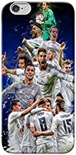 Real Madrid Printed Back Cover For iPhone 6 - Multi Color