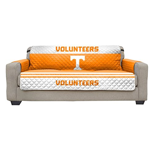 Reversible Couch Cover - College Team Sofa Slipcover Set / Furniture Protector - NCAA Officially Licensed (Recliner, University of Virginia Cavaliers (UVa))