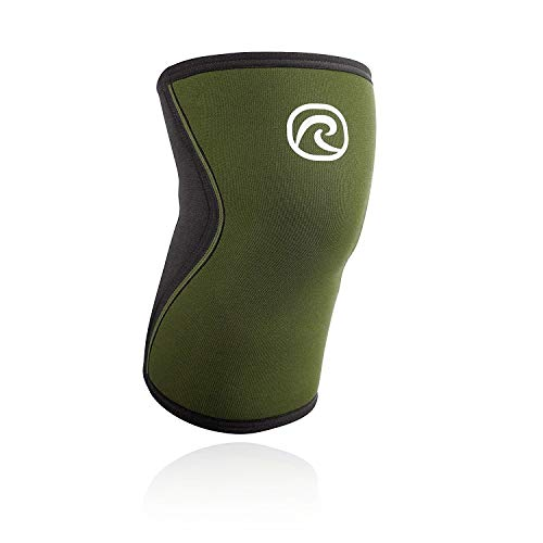 Rehband Rx Knee Support 7751 5mm - Small - Green - Expand Your Movement + Cross Training Potential - Knee Sleeve for Fitness - Feel Stronger + More Secure - Relieve Strain - 1 Sleeve