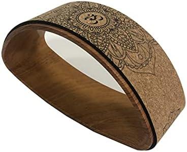 Great interest YONGYUAN Baltimore Mall Non-slip Yoga Wheel Home TPE Ring Dharma Yog
