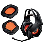 V-MOTA Earpads Compatible with ASUS Rog Strix 7.1 RGB Gaming Headset,Replacement Earpads Leather Cushion Repair Part