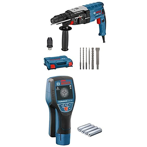 Bosch Professional Martillo perforador combinado GBH 2-28 F + Bosch Professional Detector de pared D-tect 120
