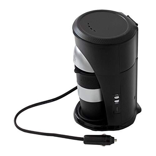 Multistore 2002 LKW Kaffeepadmaschine mit Kaffeebecher zum Anschluss an den Zigarettenanzünder 24V / 300W - Reisekaffeemaschine LKW, Boot oder Camper
