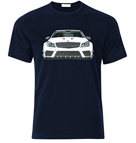 T Shirt inspiriert von C63 AMG DTM Nordschleife Edition Fan Racing t Shirt T-Shirt (M, Navy BLAU)