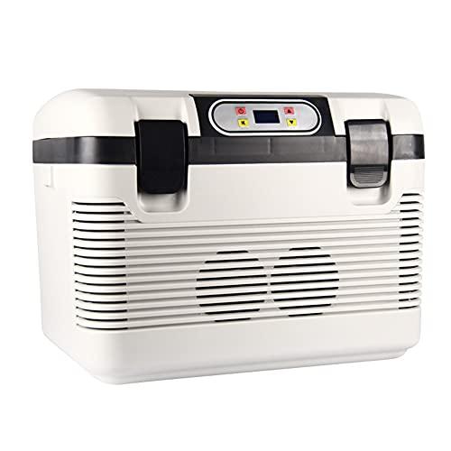 WUQIAO Mini refrigerador de Medicina 19L termostato de calefacción y enfriamiento de Coche, botón de Temperatura, para Camping, vehículo