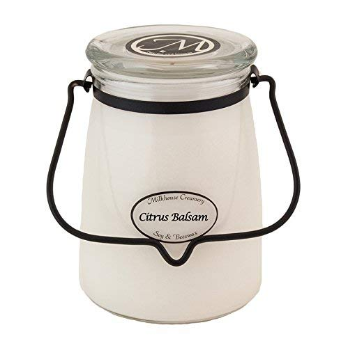 Milkhouse Candle Creamery Citrus Balsam 22 oz. Butter Jar Candle