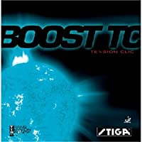 STIGA(スティガ) テンション系裏ソフトラバー BOOST TC(ブースト TC) レッド 厚