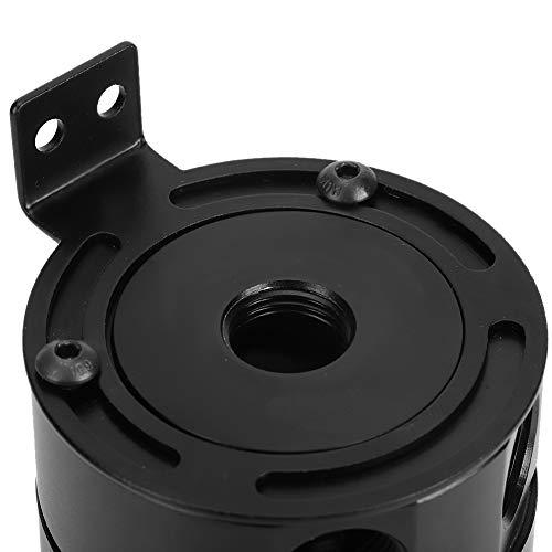 Depósito de aceite para automóvil, con válvula de drenaje, lata de captura de aceite Capac de 5 oz con deflector, para automóvil