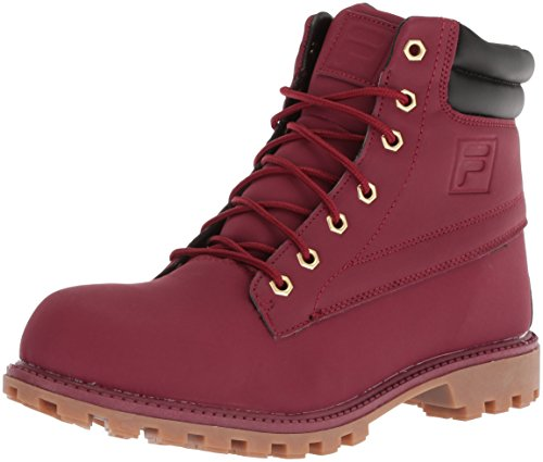Fila Men's WATERSEDGE 17 Hiking Boot, Biking red/Black/Gum, 12 Medium US