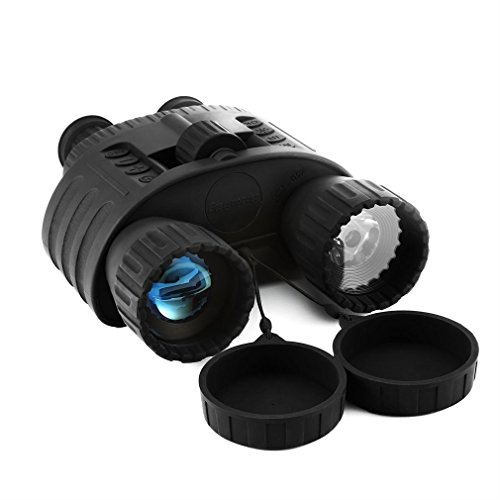 Digital Night Vision Binoculars,Bestguarder 4X50mm HD Digital Night Vision Binocular 300m /980ft Range Takes 5mp Photo & 720p Video with 1.5 inch TFT LCD and Camera & Camcorder Function Adjustable Eyepiece