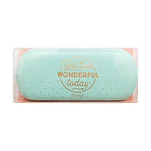 Mr. Wonderful Funda para gafas, You Look Wonderful Today