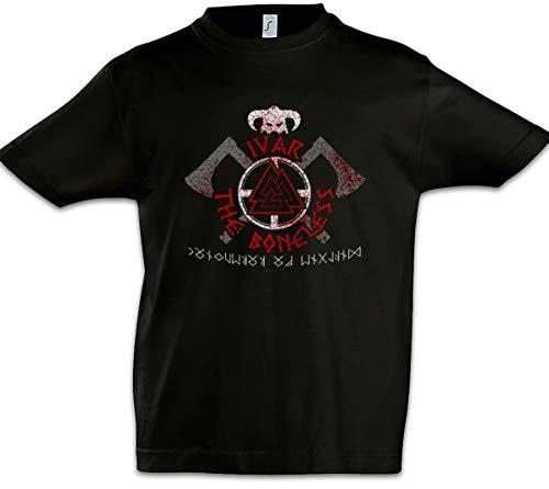 Urban Backwoods Ivar The Boneless pojkar barn T-Shirt svart