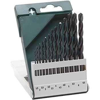 Bosch 2 609 255 031 - Pack de 13 brocas para metal HSS-R, DIN 338: Amazon.es: Bricolaje y herramientas