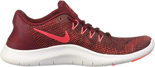 Nike WMNS Flex 2018 Rn Womens Aa7408-600 Size 5.5, Team Red/Flash Crimson