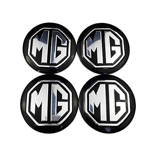 Tapas Para Llantas 4 Unids Tire Cord Gors Caps Center Caps Capts Center Cubierta para MG ZS ZS ZT 350 MG3 MG5 MG6 MG7 TF GS GT MORRIS GARAJES MG3SW 56mm Etiquetas engomadas de la rueda Accesorios de a