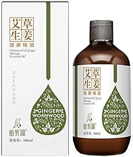 Wormwood Ginger Essential Oil Body Massage - 500 ML
