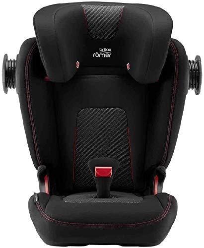 Romer Sillas de coche (Kidfix III M Air Black / 22896) (Única, Compuesto, Unisex Infantil)