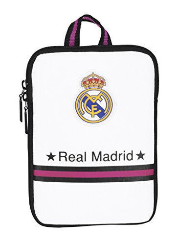 Safta SF-611457733-Funda Tablet 7,9, diseño Real Madrid, Unisex, Multicolor