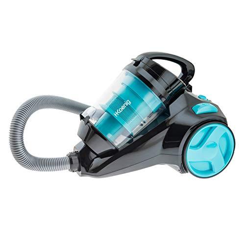H.Koenig SLC85 - Aspirador sin bolsa multiciclónico silencioso +, Especial para...