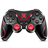 CIPON Wireless Controller Replacement for PS-3 Console, Bluetooth Gamepad Remote with 1.8 M Cable (Black)