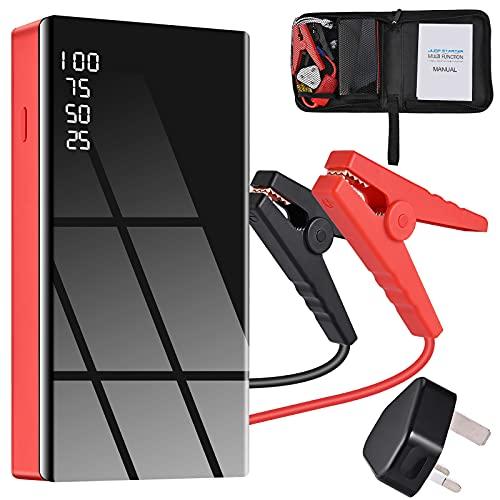 GOLDGE Car Jump Starter, 600A Peak 12V Output Portable Battery...