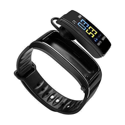 Reloj Inteligente Auricular Bluetooth Desmontable Teléfono Universal para Hombres Y Mujeres Auriculares Deportivos Pulsera Inteligente