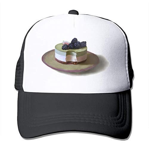 fuyon Dessert Unisex Strapback Baseball Caps Adult Mesh Rock Hüte Verstellbarer Snapback
