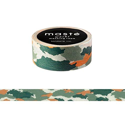 Maste grün Camouflage Washi Tape
