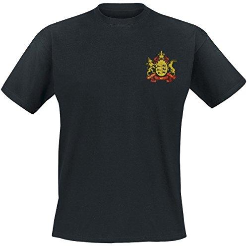 Furchtlos und Treu - T-Shirt, Farbe: Schwarz, Bedruckt, Größe: L