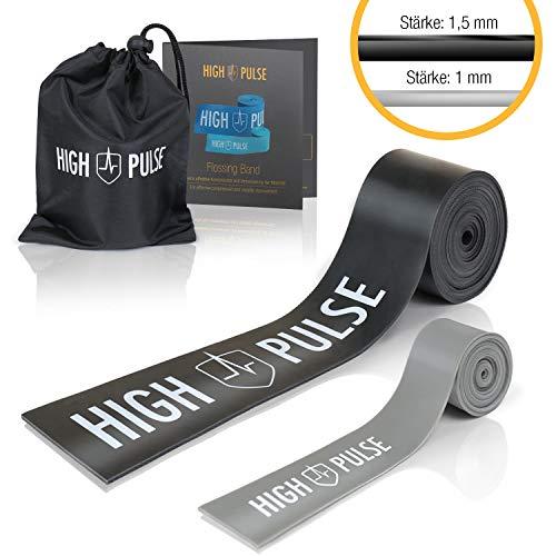 High Pulse® Flossbänder (Stärke 1,5 mm + 1 mm)