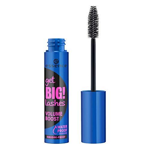 Essence Get BIG! LASHES Volume Boost WATERPROOF Mascara -3er Pack